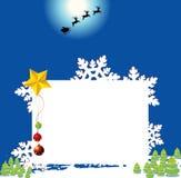 Projeto do fundo do Natal ilustração do vetor