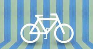 Projeto do fundo do parque da bicicleta Foto de Stock Royalty Free
