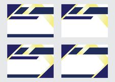 Projeto do fundo para bandeiras e certificados ilustração stock