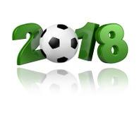 Projeto do futebol 2018 Fotos de Stock