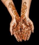 Projeto do Henna Imagens de Stock Royalty Free