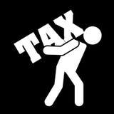 Projeto do imposto ilustração stock