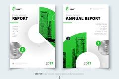 Projeto do insecto Tampa, folheto ou inseto do relatório de empresa ilustração stock