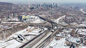 Projeto do intercâmbio de Montreal Turcot Fotografia de Stock