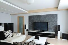 Projeto do interior. Sala de visitas Fotografia de Stock Royalty Free