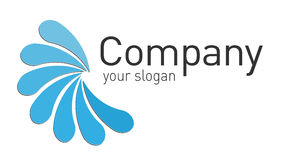Projeto do logotipo Foto de Stock