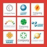 Projeto do logotipo da companhia Fotografia de Stock