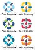 Projeto do logotipo da empresa Foto de Stock Royalty Free
