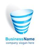 Projeto do logotipo do centro de negócios Imagens de Stock Royalty Free