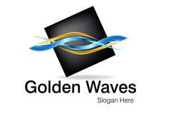 Projeto do logotipo do negócio Imagem de Stock