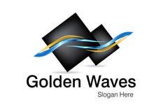 Projeto do logotipo do negócio Imagens de Stock Royalty Free