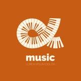 Projeto do logotipo do vetor Fotografia de Stock