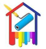 Projeto do logotipo para o negócio ilustração royalty free