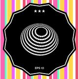 Projeto do logotipo - símbolo da terra Imagens de Stock Royalty Free