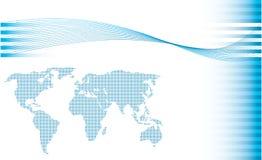 Projeto do mapa do vetor Fotos de Stock Royalty Free