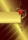 Projeto do menu Imagem de Stock