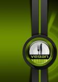 Projeto do menu do vegetariano Imagem de Stock