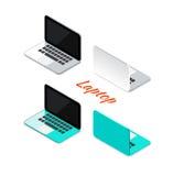Projeto do molde do cartão do contato comercial projeto da cor do contraste VE Imagem de Stock Royalty Free