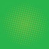 Projeto do molde do vetor de Art Forest Green Dots Comic Background do PNF ilustração royalty free