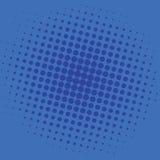 Projeto do molde do vetor do fundo de Art Dark Blue Dots Comic do PNF ilustração stock