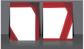 Projeto do molde do inseto do folheto do folheto do informe anual do vetor, projeto da disposição da capa do livro, moldes abstra Foto de Stock