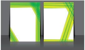 Projeto do molde do inseto do folheto do folheto do informe anual do vetor, projeto da disposição da capa do livro, moldes abstra Fotos de Stock Royalty Free