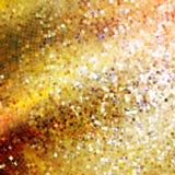 Projeto do molde no ouro que brilha. EPS 10 ilustração stock