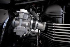 Projeto do motor da motocicleta Foto de Stock
