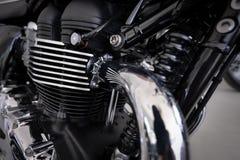 Projeto do motor da motocicleta Imagens de Stock