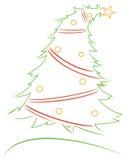 Projeto do Natal Fotografia de Stock Royalty Free