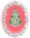 Projeto do Natal e do ano novo Imagens de Stock Royalty Free