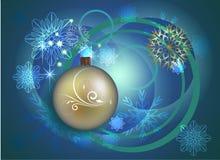 Projeto do Natal e do ano novo Imagem de Stock Royalty Free