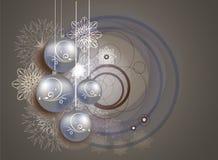 Projeto do Natal e do ano novo Fotografia de Stock