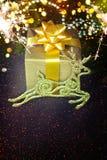 Projeto do Natal - Feliz Natal Ano novo Imagens de Stock