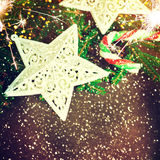 Projeto do Natal - Feliz Natal Ano novo Fotos de Stock