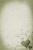 Projeto do ornamento do vetor no papel velho Foto de Stock