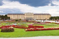 Projeto do palácio Viena de Schonbrunn do jardim Fotografia de Stock Royalty Free