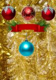 projeto do papel de parede do Natal fotografia de stock royalty free