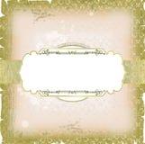 Projeto do quadro do molde para o cartão Imagens de Stock Royalty Free