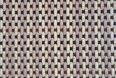 Projeto do rattan do Weave Imagem de Stock Royalty Free