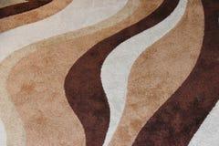 Projeto do redemoinho dos marrons imagem de stock