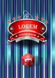 Projeto do restaurante do emblema Imagens de Stock Royalty Free