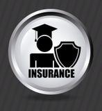 Projeto do seguro ilustração stock
