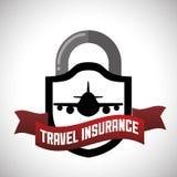 Projeto do seguro ilustração royalty free