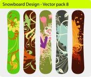 Projeto do Snowboard Foto de Stock Royalty Free