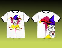 Projeto do t-shirt Imagens de Stock