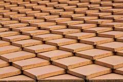 Projeto do telhado de telha Imagens de Stock Royalty Free
