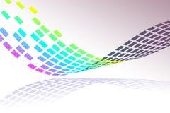 Teste padrão de mosaico colorido Imagens de Stock Royalty Free