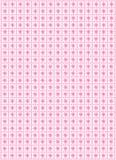 Projeto do teste padrão na cor-de-rosa Fotografia de Stock Royalty Free