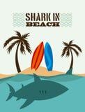Projeto do tubarão Fotografia de Stock Royalty Free